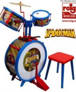 Bateria musical infantil Spiderman