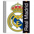 Libreta escolar para niños del Real Madrid