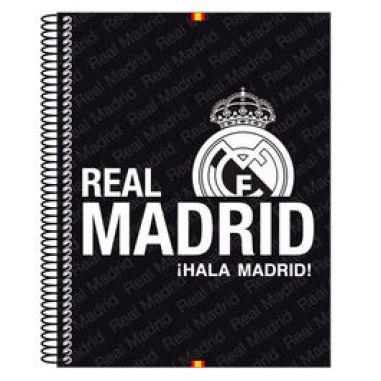 Libreta escolar Real Madrid