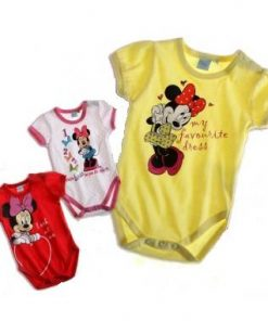 Body infantil Minnie