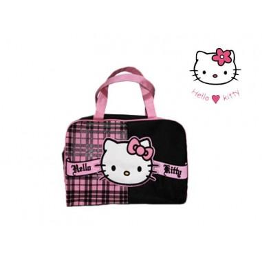 Bolsa aseo con asas de Hello Kitty