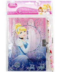 Diario con candado de Princesas