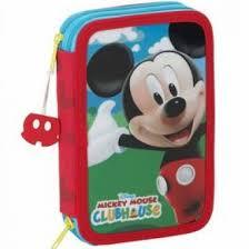 Estuche doble Mickey