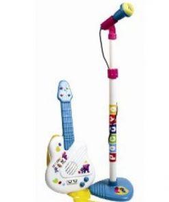 Guitarra y micro de Pocoyo