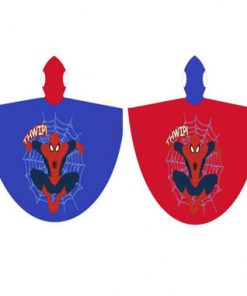 Capa impermeable de Spiderman