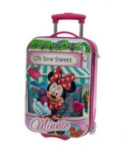 Maleta de viaje para niñas de Minnie