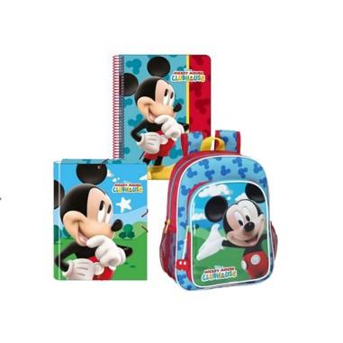 Conjunto escolar de Mickey