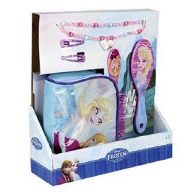 Neceser con accesorios para el pelo de Frozen