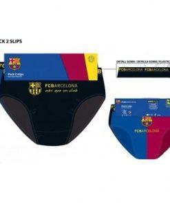 Calzoncillo slip adulto F C Barcelona
