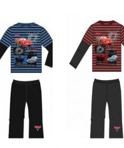 Pijama manga larga Cars