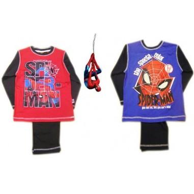 Pijama invierno para niños de Spiderman