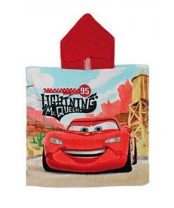 Poncho capucha Cars