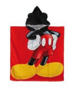Poncho playa o piscina de Mickey