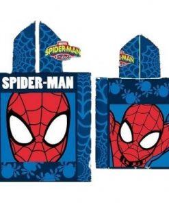 Toalla poncho Spiderman