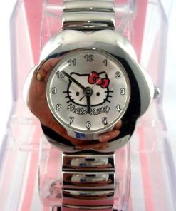 Reloj infantil niña metal Hello Kitty