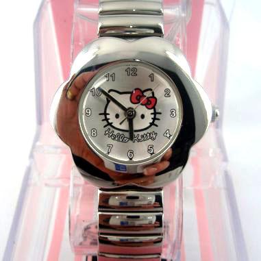 Reloj infantil niña metal Hello Kitty