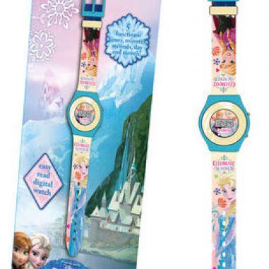 Reloj infantil para niñas de Frozen