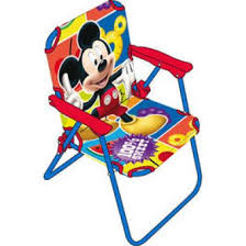 Silla plegalbe infantil Mickey Mouse