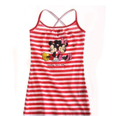 Vestido tirantes Minnie