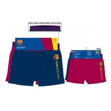 Calzoncillo boxer adulto F C Barcelona