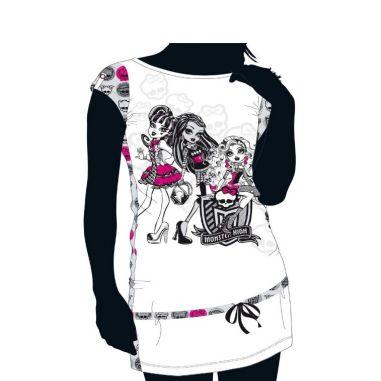 Camisón blanco Monster High