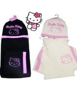Gorro y bufanda Hello Kitty