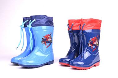 Botas de lluvia Spiderman