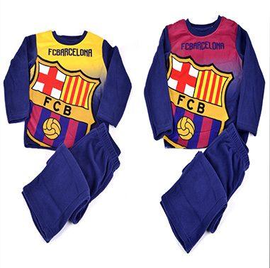 Pijama polar para niño de FC Barcelona  b861993f961