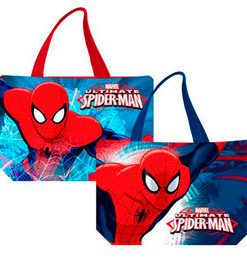 Bolso playero Spiderman