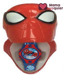 Estuche con reloj Spiderman