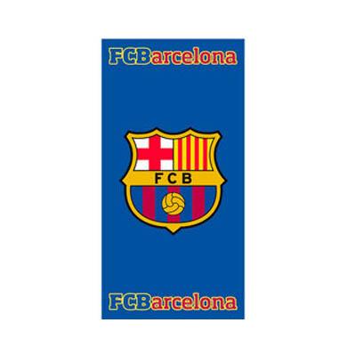 Toalla con escudo F C Barcelona