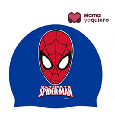 Gorro silicona Spiderman