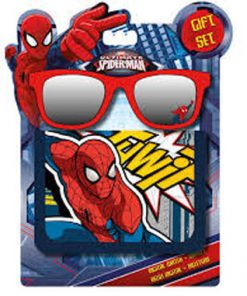 Cartera y gafas de sol Spiderman