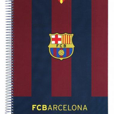 Libreta escolar F C Barcelona