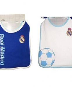 Babero infantil Real Madrid