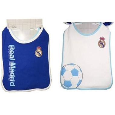 Babero infantil Real Madrid
