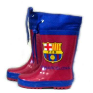 Bota lluvia F C Barcelona