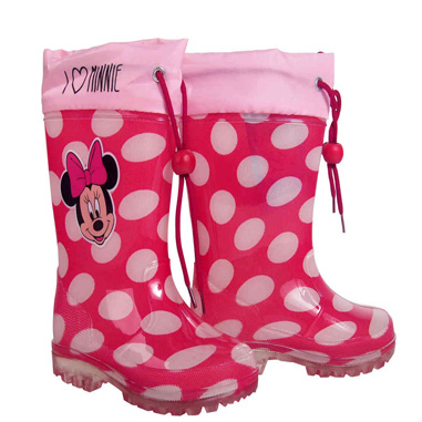 Botas lluvia de Minnie