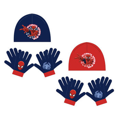 Gorro y guantes Spiderman