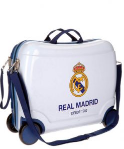 Maleta correpasillo infantil Real Madrid