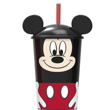 Vaso con pajita de Mickey