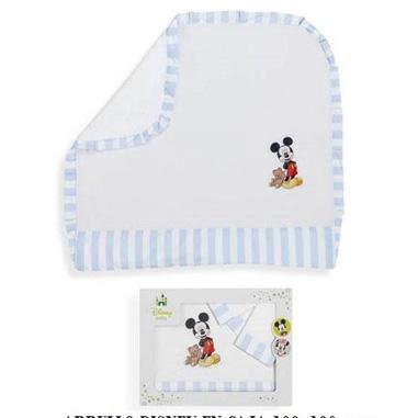 Manta para bebe de Mickey