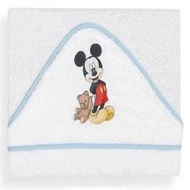 toalla baño para bebe de Mickey