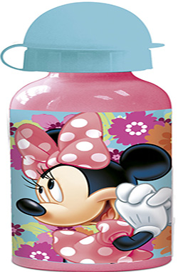 Botella liquidos aluminio Minnie