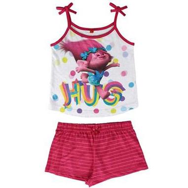 Pijama tirantes para niñas de Trolls