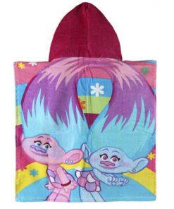 Poncho toalla de Trolls