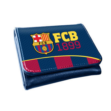 Cartera para niños F C Barcelona