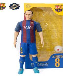 Muñeco replica Iniesta