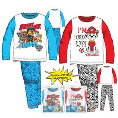 Pijama invierno Paw Patrol