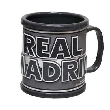 Taza Rubber Real Madrid